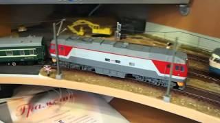 модель ТЭП70БС в окраске РЖД,1часть