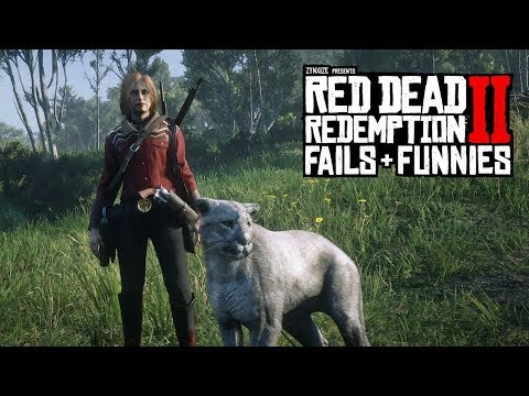 Red Dead Redemption 2 - Fails & Funnies #63