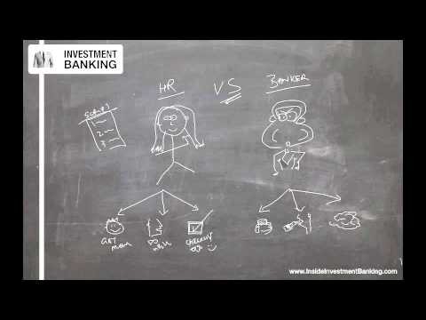 , title : 'Investment Banking HR v Bankers