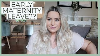 Officially Done Working! Maternity Leave Vlog & Grocery Haul