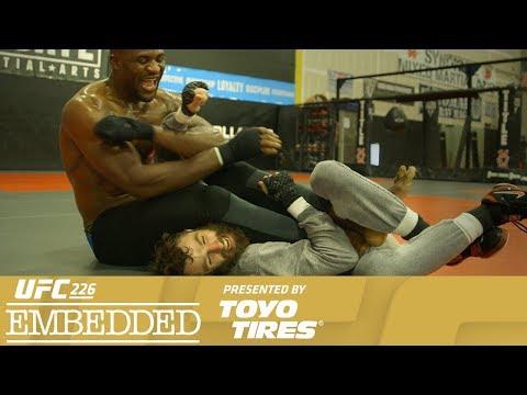 UFC 226 Embedded: Vlog Series - Episode 4