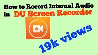 du screen recorder internal audio mod apk - TH-Clip
