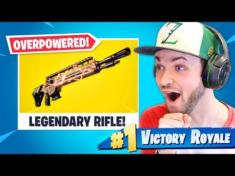 *NEW* LEGENDARY Rifle is OVERPOWERED!