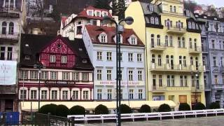 preview picture of video 'Karlovy Vary   Czech Republic   Winter 2015'