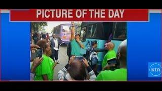 News Center: What's trending; 'Kange' Bob Collymore on route 7c to 'namba nane' Kibera