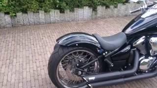 Kawasaki Vn900 Classic Umbau, Modified, Fat, Finished (for 2016 Season)