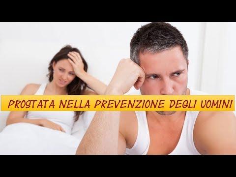 Prostata massaggio instillazione