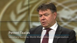 """UN weather agency chief: """"We have all the means to be successful"""" in tackling climate change"""