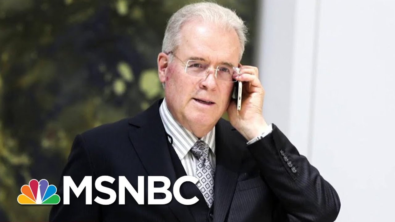 Conservative Donor Robert Mercer Stepping Down From Hedge Fund | Velshi & Ruhle | MSNBC thumbnail