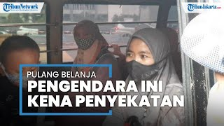 Pulang Belanja Baju Lebaran, Pengendara Mobil Travel Malah Kena Penyekatan di GT Bekasi Barat