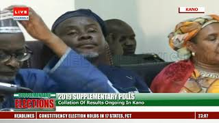 Supplementary Elections: Collation Of Results Ongoing In Kano Pt.2
