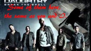 Rescue Me Lyrics - Daughtry