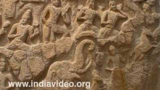 Smaller Arjuna�s penance at Mahabalipuram, Chennai