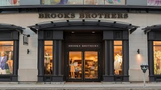 Brooks Brothers Files For Bankruptcy As Coronavirus Claims Another Storied Retail Brand