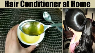 How To Make HAIR CONDITIONER At Home For Frizzy, Thin & Weak Hair