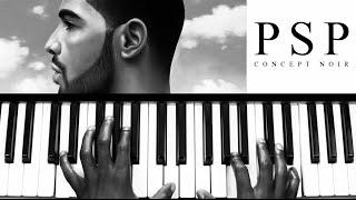 """""""Unforgettable"""" - Drake (Piano Tutorial)"""
