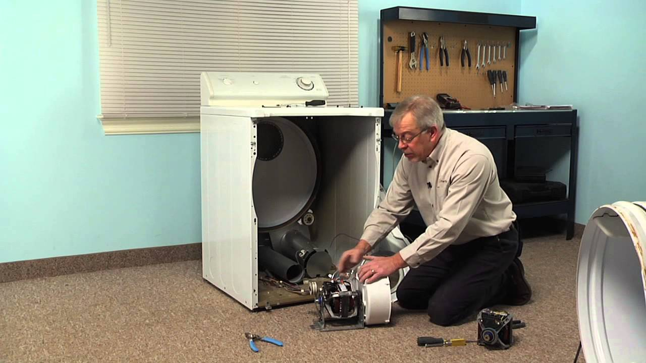 Replacing your Maytag Dryer Drive Motor - 115V