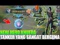 Download Lagu NEW HERO KHUFRA - TANK SUPER KEREN PUNYA SKILL YANG BERGUNA BANGET BUAT TEAM - MOBILE LEGENDS Mp3 Free