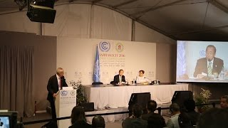 UN chief urges continued momentum for #ClimateAction to protect the people and planet