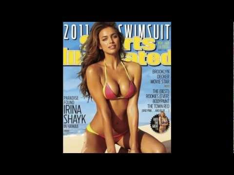 Slavic models on magazine covers