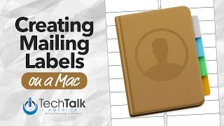 Creating Mailing Labels on Your Mac