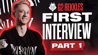 « G2 Rekkles FIRST Interview Part 1 & Part 2 » par G2 Esports