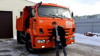 Самосвал КамАЗ-65115. Обзор-отзыв.