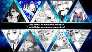 【9 Vocaloid & 1 CeVIO Chorus】Hibikase || VOCALOID ||