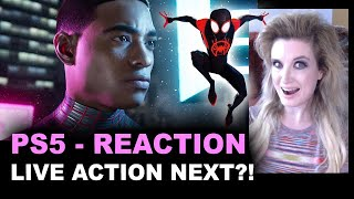PS5 Spider-Man Miles Morales REACTION