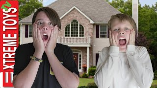 Ethan and Cole are HOME ALONE!