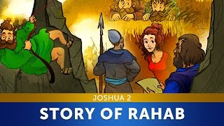 Sunday School Lesson - The Story Of Rahab - Joshua 2 - Bible Teaching Stories For VBS