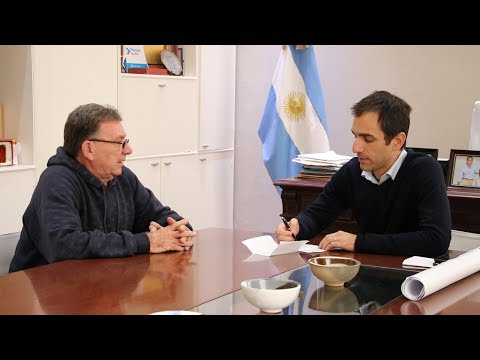 Petrecca otorga un subsidio a Pepa para aliviar el bolsillo de los juninenses