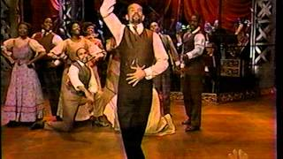"""Brian Stokes Mitchell and the cast of RAGTIME, """"Getting Ready Rag"""""""