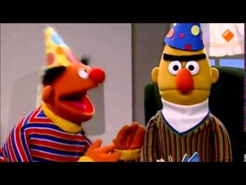 Bert en Ernie berts verjaardag