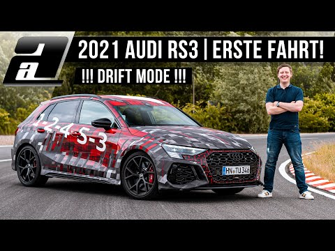 Der NEUE Audi RS3 (400PS, 500Nm) | ERSTE Fahrt | Drift, Sound, Beschleunigung