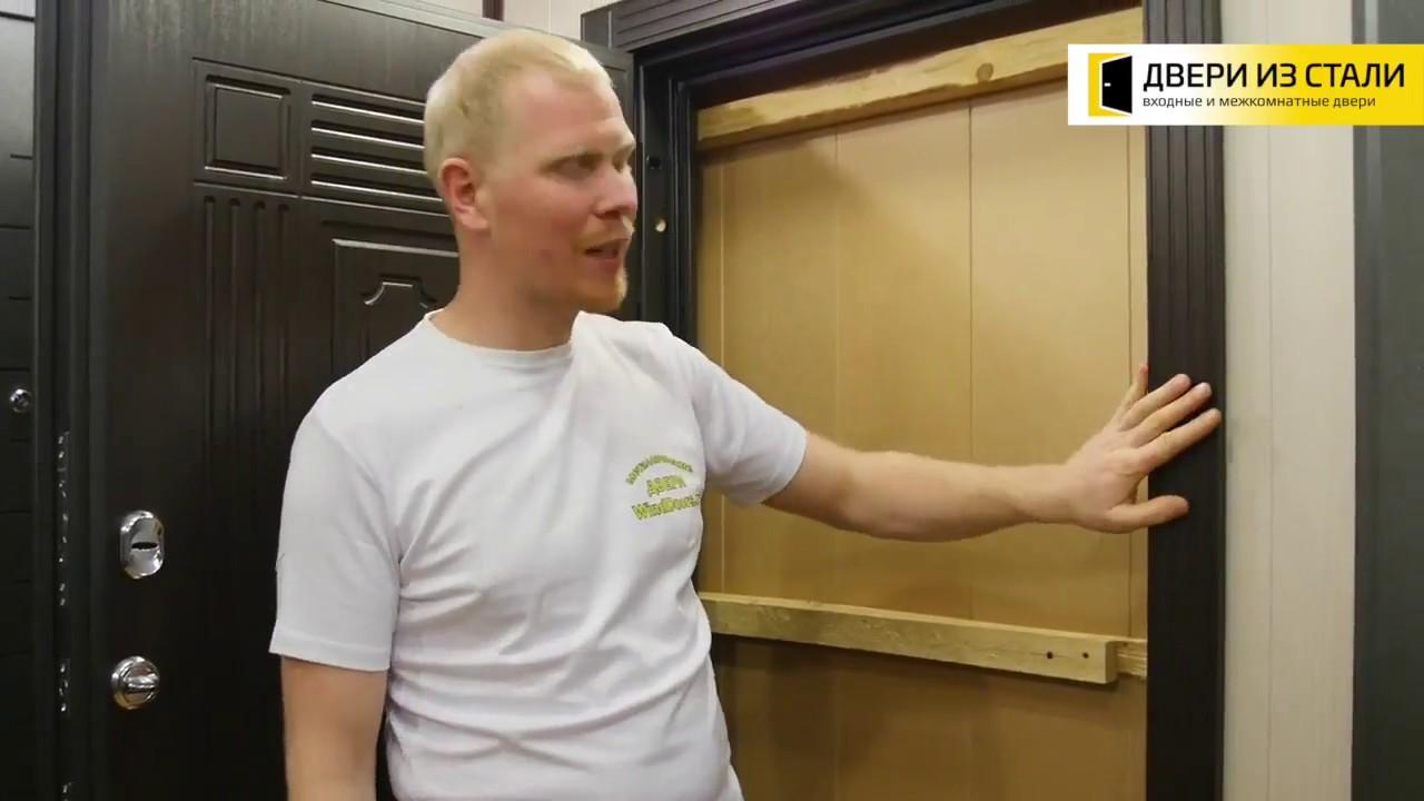 Видеообзор Дверь Voldoor СТ-2 Венге / Венге