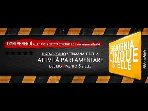 La settimana in parlamento 11 ott m5s massa5stelle for Streaming parlamento