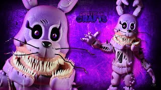 TWISTED BONNIE | FNAF : The Twisted Ones | Cold Porcelain / Polymer Clay Tutorial