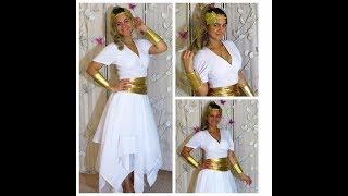 Halloween Greek Goddess - Household Last Minute Costume