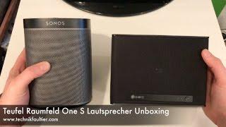 Teufel Raumfeld One S Lautsprecher Unboxing