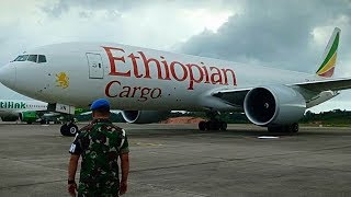 Ethiopian Airlines Dipaksa Mendarat, Panglima TNI: Masuk Wilayah RI Tanpa Izin, Bawa Mesin Pesawat