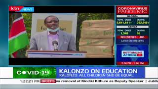Kalonzo on education: \'Not all children can access digital learning\