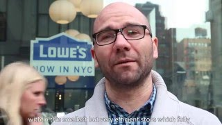 STORE TOUR NYC 2016 - ONSITE EXPERIENCE : LOWES