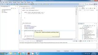 Graphical User Interface in Java Applet (Hindi)