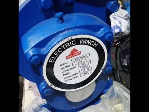 Construction Electric Winch