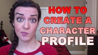 How to Create a Character Profile