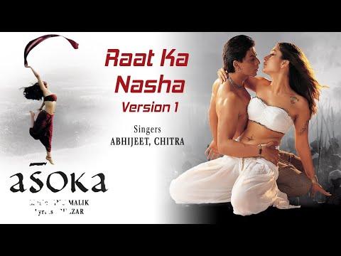 Raat Ka Nasha Official Audio Song - Asoka|Shah Rukh Khan, Kareena|Abhijeet, K.S. Chithra