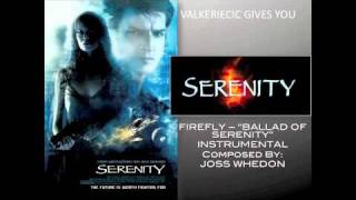 "TV Themes - Firefly ""Ballad of Serenity"" - [INSTRUMENTAL]"