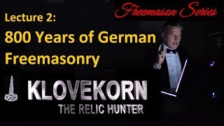 800 Years of German Freemasonry