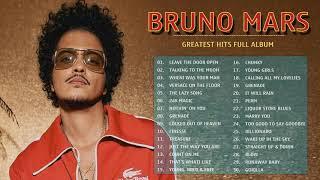 Leave The Door Open - BrunoMars Greatest Hits 2021 - BrunoMars Playlist - BrunoMars Full Album
